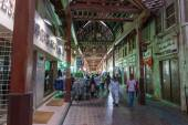 Street Market in Dubai Deira — Stock Photo