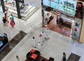Inside modern luxuty mall in Dubai — Stock Photo