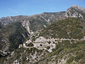Winding road in the Alpes-Maritimes — Foto Stock