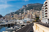Port in Monte Carlo, Monaco. — Stock Photo