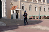 Guard at residence of Prince of Monaco. — ストック写真