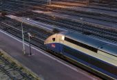 High-speed train TGV In Nice — ストック写真