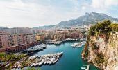 Monte Carlo harbour in Monaco — Stock Photo
