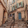 Street in the old town Cannes — Stock Photo #65198169