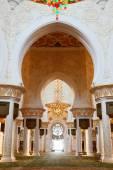 Mesquita sheikh zayed, abu dhabi — Fotografia Stock