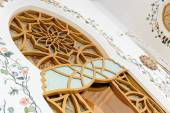 Interior of  the Sheikh Zayed Grand Mosque — Stock Photo