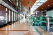 Interior metro station in Dubai UAE — Stock Photo