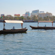 Traditional Abra ferries in Dubai — Stock Photo #67583207