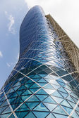 Modern Capital Gate Tower — Stock Photo