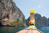 Traditional Thai Longtail boat — Stock Photo