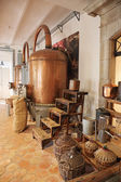 Ancient distiller for the production of perfume — Stock Photo