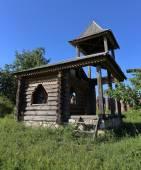 Old log house chapel — Stockfoto