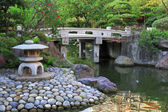 Beautiful Japanese garden — Stock Photo