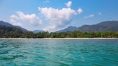 View of the tropical island — Stock Photo