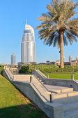 La dirección en el Dubai Mall Hotel — Foto de Stock