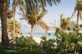 Jumeirah Beach Park in Dubai — Stock Photo