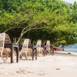 Cafe on tropical beach — Stock Photo #82920088