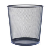 Empty wastebasket — Stock Photo