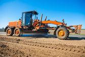 Roadworking tractor — Stock Photo