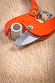 Pipe cutter — Stock Photo