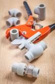 Plumbers fixtures — Stock Photo