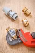 Plumbing fixtures — Stock Photo