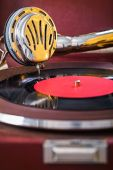 Speaker gramophone — Stock Photo