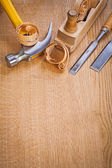 Woodworking tools — Stock Photo