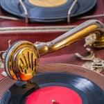 Gramophone close up — Stock Photo #55504215