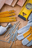 Construction set of tools — Stock Photo