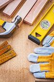 Conjunto de herramientas de construcción — Foto de Stock
