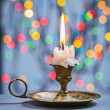 Candle in candlestick — Stock Photo #58756695