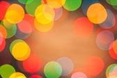 Abstract lights bokeh — Stock Photo