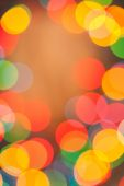 Brightly multycolored bokeh — Stock Photo