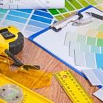 Set of architect tools — Stock Photo #60134915