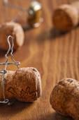 香槟软木塞 — 图库照片