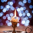 Burning candle — Stock Photo #60346263