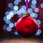 Red christmas ball — Stock Photo #60346429
