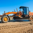 New road working tractor — Stock Photo #60346461