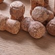 Set of champagne corks — Stock Photo #60346523