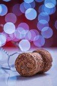 Corcho champagne — Foto de Stock