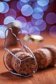 Corchos de champán — Foto de Stock