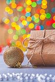 Alte Papier-Geschenk-box — Stockfoto