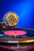 Altes grammophon — Stockfoto