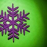 Christmas toys simbol flake — Stock Photo #61464963