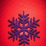 Christmas toys simbol flake — Stock Photo #61464965