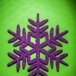 Christmas toys simbol flake — Stock Photo #61464977