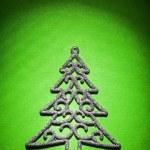 Christmas toys simbol of fir tree — Stock Photo #61465021