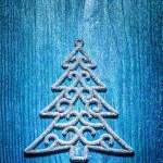 Christmas toys simbol of fir tree — Stock Photo #61465063