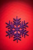Christmas toys simbol flake — Foto de Stock